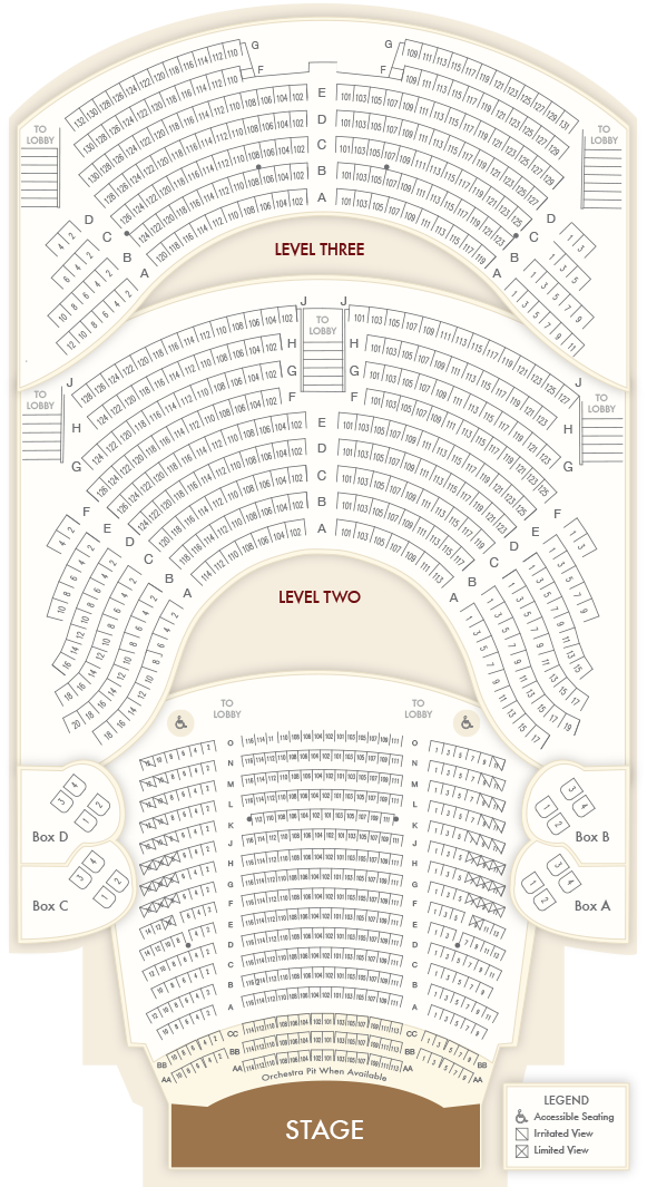 Seating Chart: Opera House